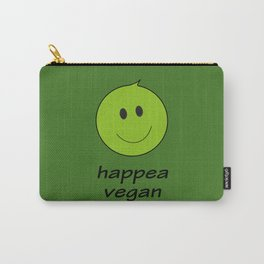 happy vegan Carry-All Pouch
