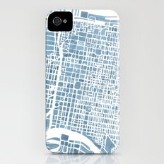 Philadelphia City Map Slim Case iPhone (4, 4s)