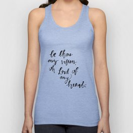 Be Thou My Vision Unisex Tank Top