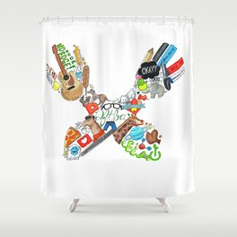 Don't Forget (Traditional) Shower Curtain