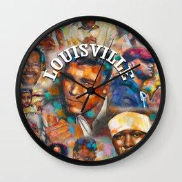 Louisville Legends Wall Clock