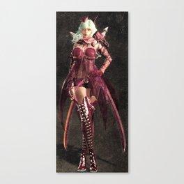 Pink woman Canvas Print