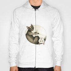 Yin Yang Siamese Cats Hoody