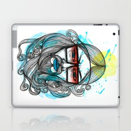 A Man with Shades and Beard Laptop & iPad Skin