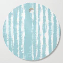 Shibori Stripe Seafoam Cutting Board