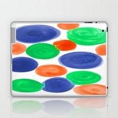 BLUE ORANGE GREEN Laptop & iPad Skin