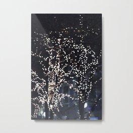 Bokeh lights Metal Print
