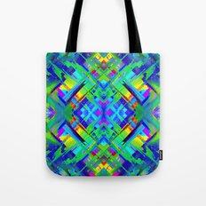 Colorful digital art splashing G476 Tote Bag
