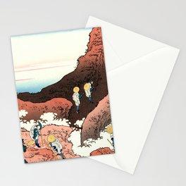 "Hokusai (1760-1849)  ""Climbing on Fuji"" Stationery Cards"