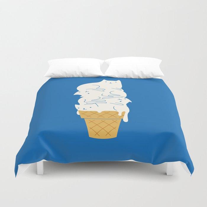 Cats Ice Cream Duvet Cover