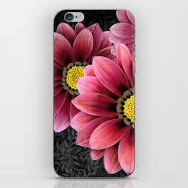 zany flowers iPhone Skin