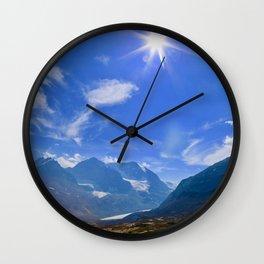 columbia icefield, 2017 Wall Clock