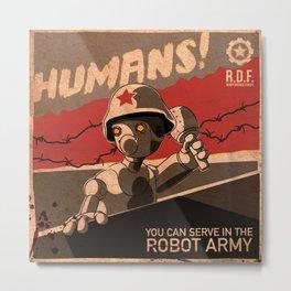 Propaganda Series 6 Metal Print