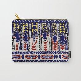South Seas Samoa Batik Carry-All Pouch