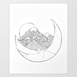 Balance Series.3 Art Print