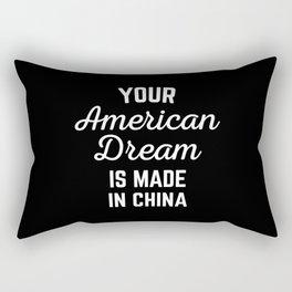 American Dream Funny Quote Rectangular Pillow