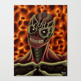 Arch-vile from DOOM Canvas Print