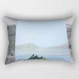Untitled / Paper collage & Graphite / 2014 Rectangular Pillow