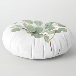Eucalyptus Branch Floor Pillow