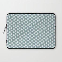 Dots . Blue Laptop Sleeve