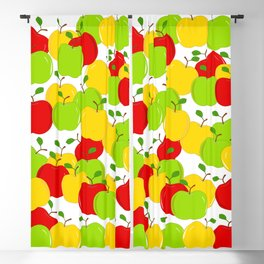 Bunches Of Apples Blackout Curtain