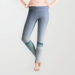 Pastel ocean waves Leggings
