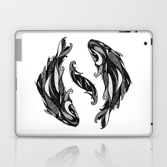 Signs of the Zodiac - Pisces Laptop & iPad Skin