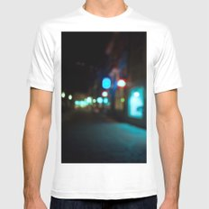 Nocturne MEDIUM Mens Fitted Tee White