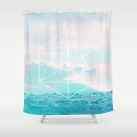 anchor Shower Curtains featuring Anchor by 83 Oranges™