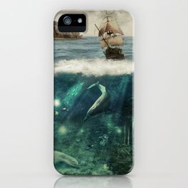 WATER WORLD iPhone Case