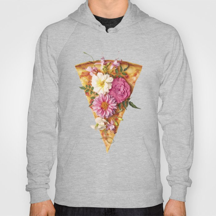FLORAL PIZZA Hoody