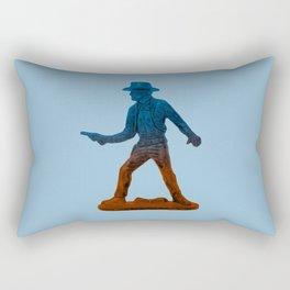 Toy Cowboy Rectangular Pillow