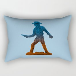 Toy Cowboy Rectangular Pillow