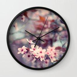 Spring flush Wall Clock