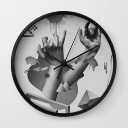 Hands Wall Clock