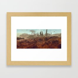 Colony 116 - LHS 1150 b Framed Art Print