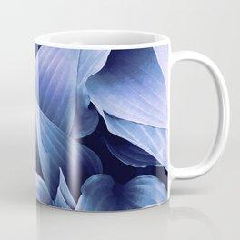 Classic Blue Foliage Coffee Mug