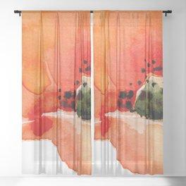 Poppy Sheer Curtain