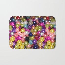 Rainbow beads Bath Mat