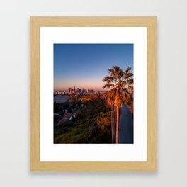 Palm Tree 1 Framed Art Print