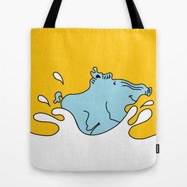 Blue Boar is fun Tote Bag
