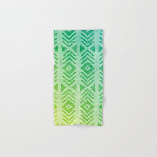 Aztec Pattern 01 Hand & Bath Towel