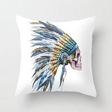 Skull 04 Throw Pillow