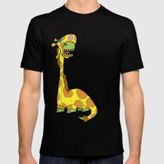 Bronto-raffe Mens Fitted Tee MEDIUM Black