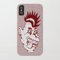 punk iPhone & iPod Cases featuring Punk by Adam Metzner