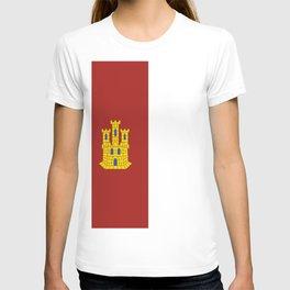 flag of castilla la mancha T-shirt