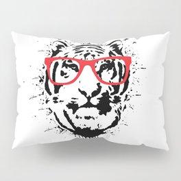 Hipster white Pillow Sham