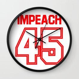 Impeach Wall Clock