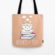 Books + Tea Tote Bag