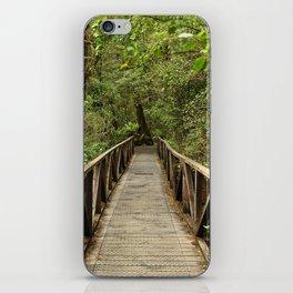 Bridge to forest. New Zealand iPhone Skin